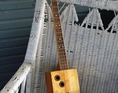 Box Guitar - Art -  Built from Vintage First Aid Box  - Ready to Gig With - Incredible Sounding