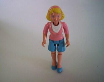 Fisher Price Doll,  RV Camper, Loving Family