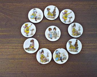 Pantaloons & Petticoats, Roth miniature plates