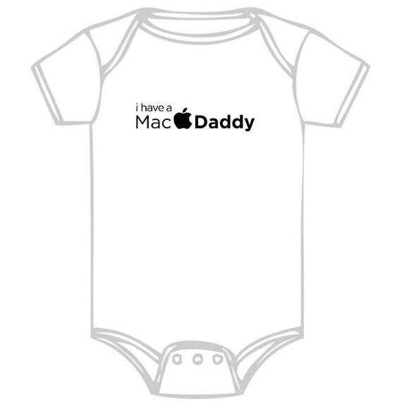 Iron-on Onsies: Mac Daddy