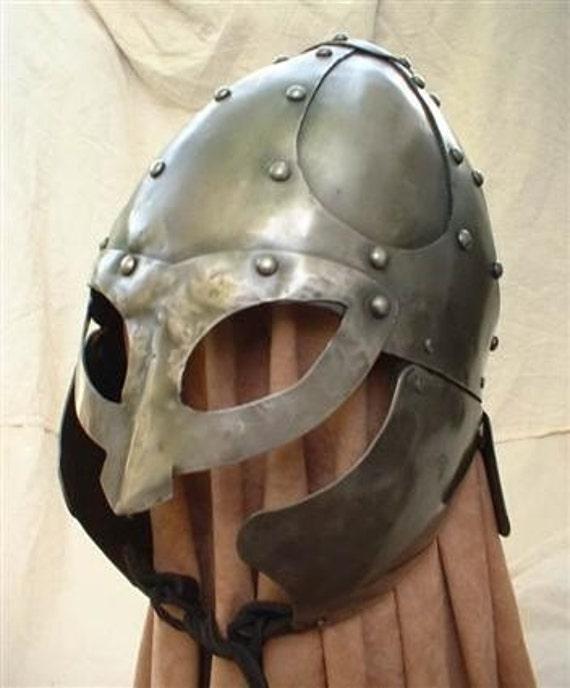 Hand forged Viking helmet / armor