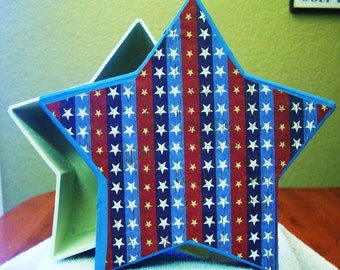 Star box... Great for Popcorn or Candy