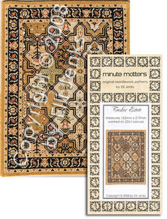Dollhouse Carpet Pattern - Tasker Estate