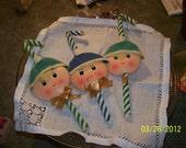 Three Elves ready for Christmas