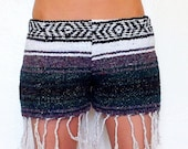 Baja Coachella Shorts Bohemian Lady // Small