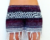 Baja Coachella Shorts Bohemian Lady // Medium