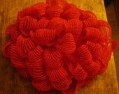 Vintage 50s/ 60s deep pink curler cover hat, great condition. Mr. Stanley original. Cover those rollers while your wet set dries.
