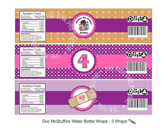 Soft image throughout doc mcstuffins printable labels