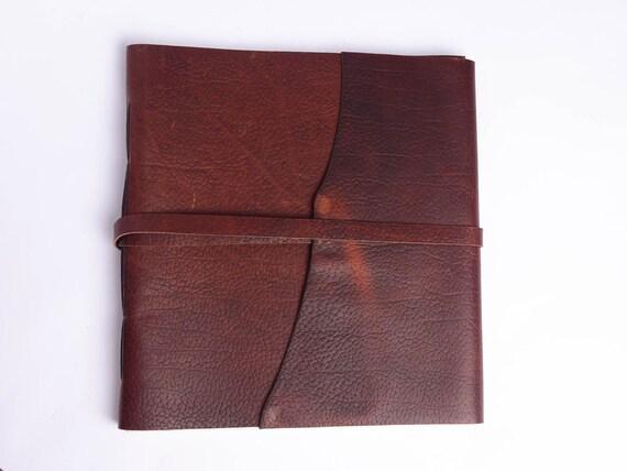 Large Bison Leather Album
