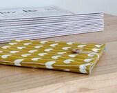 Hand Printed Kindle Cover HENRIETTA Mustard Yellow