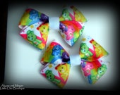 Pair of Care Bears Boutique Pigtail Bows