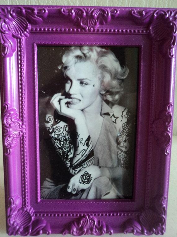 Marilyn Monroe tattooed