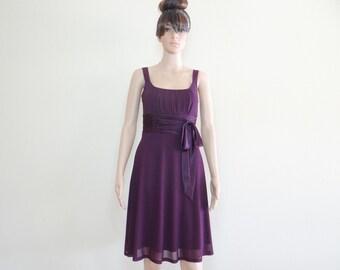 Purple Evening Dress.Purple Bridesmaid Dress. Party Dress.Formal Dress
