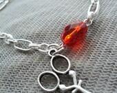 Scissor Charm Bracelet for Hair Stylist