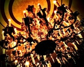Haunted Mansion Chandelier, Disneyland, gothic art print, home decor, wall art, fine art photography