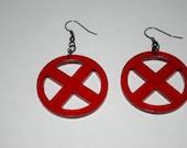 X-Men Logo Earrings