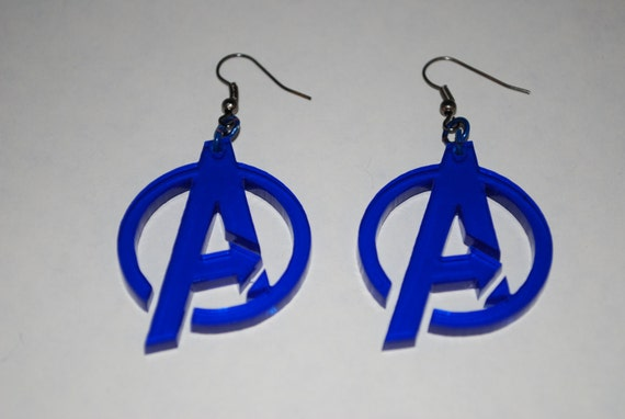 Avengers Logo Earrings