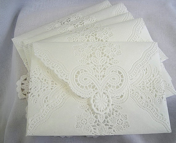 Custom Made Wedding Invitations: Custom Set For Michela Envelopes Vintage Wedding Handmade