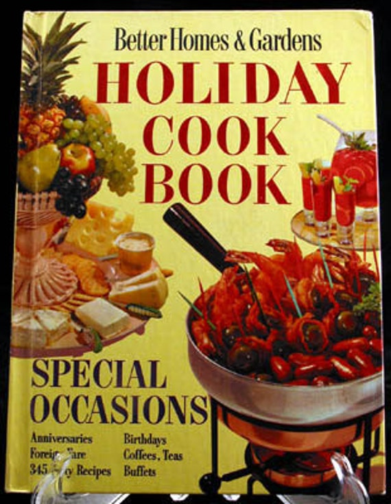 Vintage Holiday Cookbook 1967 Better Homes and Gardens