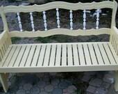 Bedframe Garden Bench
