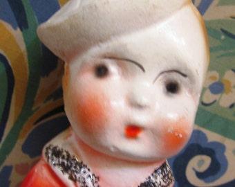 Carnival Chalkware Sailor