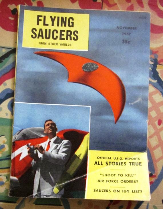 November 1957 Flying Saucer Magazine Ray Palmer
