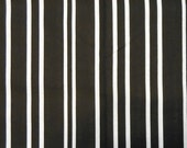 Black White Simply Stripes Quilting Fabric - 1 yd
