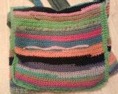 Crochet Jean Bag