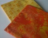 Orange and Yellow Sunshine Mix Fat Quarter Scrap Pack