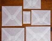 Baby Glassine Envelopes