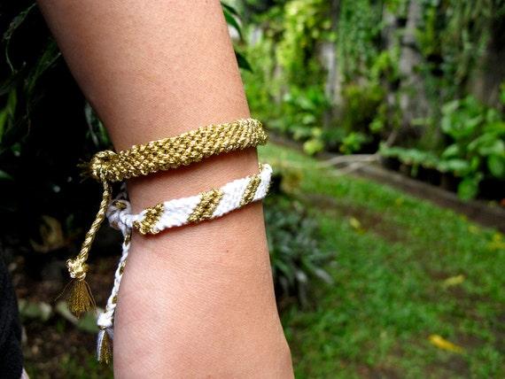 Handmade Friendship Bracelet - Athena