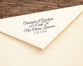 Bernard - Personalized Address Stamp - FREE SHIPPING