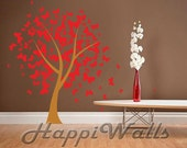 Wall Decal Vinyl Removable Home Decor Sticker - Butterflies Tree - HW018