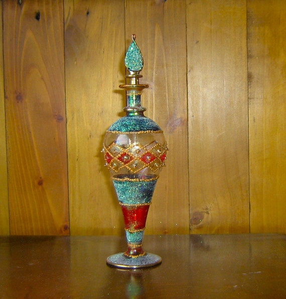 Gorgeous Moroccan Style Perfume Bottle
