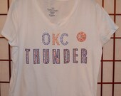 OKC Thunder Bling Shirt