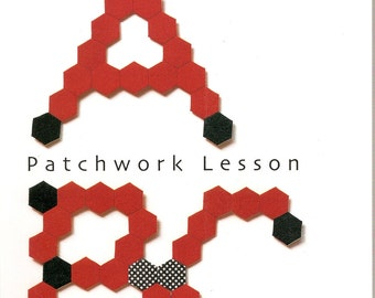 PATCHWORK LESSON by Kumiko Fujitas - Japanese Quilt Craft Book (In Chinese)