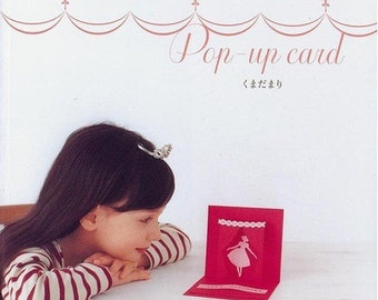Pop-Up Card Japanese Craft Book (In Chinese)