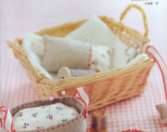 Hand Sewing Zakka Fabric Goods Japanese Sewing Craft Book (In Chinese)