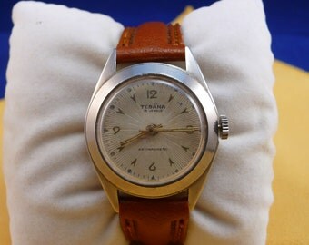 "Swiss ULTRA rare ""TEBANA""  wrist watch   1920-1940 VERY very good condition"