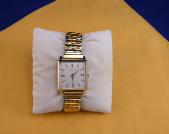 """Swiss ULTRA rare """"WESTCLOX"""" gold plated  wrist watch  1950-1960 VERY perfect condition"""