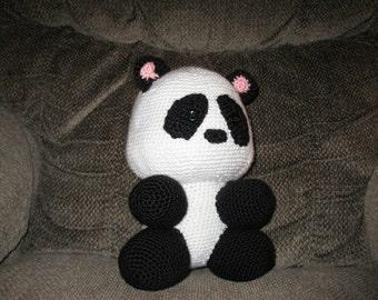 PDF Crochet Pattern Huggable Panda  Digital Download