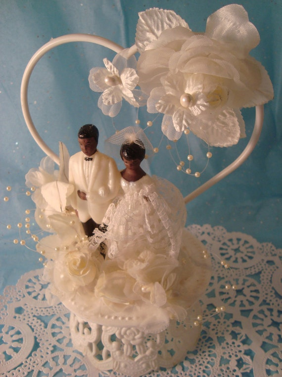 nigerian wedding cake toppers american wedding cake topper vintage by omasbasement 17878
