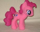 My Little Pony - Pinkie Pie - Made to Order Handmade Plush (Fleece fabric)
