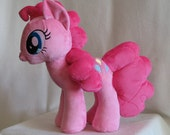 My Little Pony - Pinkie Pie - Made to Order Handmade Plush (Minky fabric)