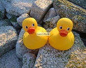 Rubber Duck Buds, 8 X 10, Child Room Decor, Hanging Art, Nursery Art
