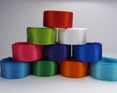 "10 yards of 5/8"" Satin Ribbon 30 Colors Available"