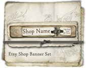 Etsy Shop Banner - Natural Layers set - banners, profile picture, avatar, reserved & special order