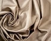 Leather hide platinum metallic matte lambskin 15.8 ft square feet - 142 dm2 - COD237