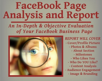 FaceBook Page Analysis and Report -  Improve Your Business Page