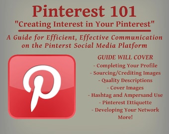 Pinterest Guide - Tips, Tricks and Insights for Effective Communication on the Social  Media Platform